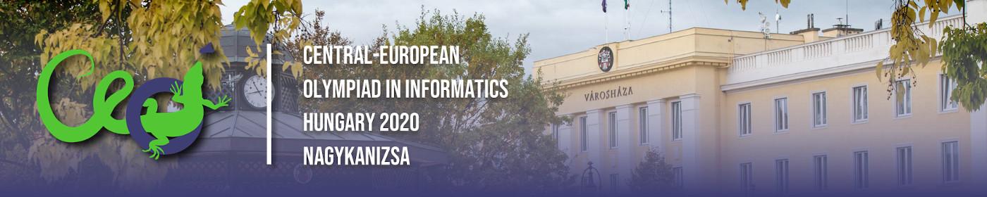 CEOI 2020 | Central-European Olympiad in Informatics